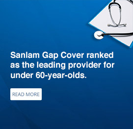 Sanlam Gap Cover ranked as the leading provider for under 60-years-olds