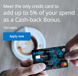 Meet the only credit card to add up to 5% of your spend as a cash-back bonus.